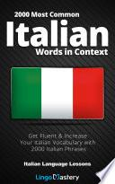 2000 Most Common Italian Words in Context
