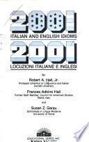 2001 Italian and English Idioms