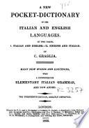 A new pocket-dictionary of the Italian and English languages