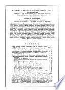 Accademie e biblioteche d'Italia annali della Direzione generale delle accademie e biblioteche
