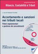 Accertamento e sanzioni nei tributi locali. Con CD-ROM