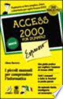 Access 2000 Espresso For Dummies