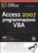 Access 2007 programmazione VBA