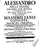 Alessandro nell'Indie0