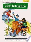 Alfred's Basic Piano Library Corso Tutto-in-Uno