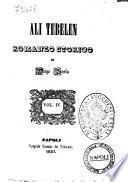 Ali Tebelen romanzo storico di Diego Soria