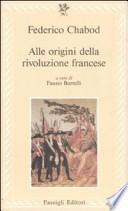 Alle origini della Rivoluzione francese