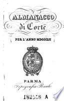 Almanacco della ducal corte di Parma