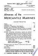 Almanacco delle marine mercantili