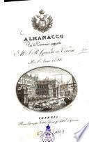 Almanacco per le provincie sogette al I. R. governo di Venezia