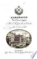 Almanacco per le provincie soggette all'Imp. Regio Governo di Venezia per l'anno ...