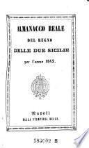 Almanacco reale del regno delle Due Sicilie