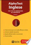 Alpha Test inglese. Per i test di ammissione all'università