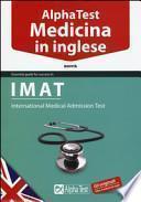 Alpha Test. Medicina in inglese. IMAT
