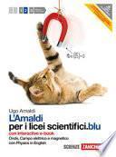 Amaldi per i licei scientifici.blu. Con Physics in english. Con interactive e-book. Con espansione online