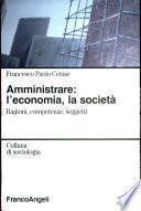 Amministrare: l'economia, la società