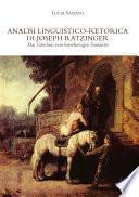 Analisi linguistico-retorica di Joseph Ratzinger, Das Gleichnis vom barmherzigen Samariter