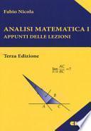 Analisi matematica 1. Appunti delle lezioni