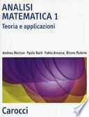 Analisi matematica 1. Teoria e applicazioni