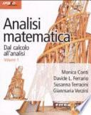 Analisi matematica. Dal calcolo all'analisi