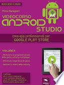 Android Studio Videocorso. Volume 8