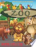 ANIMALI DELLO ZOO - Libro Da Colorare Per Bambini