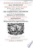 Annali d'Italia dal principo dell' era volgare sino all' anno 1500