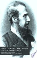 Annali Del Museo Civico Di Storia Naturale Giacomo Doria.