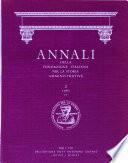 Annali Della Fondazione Italiana Per la Storia Amministrativa