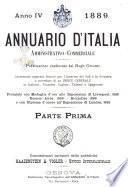 Annuario d'Italia amministrativo-commerciale
