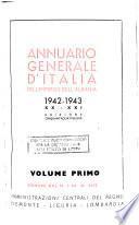 Annuario generale d'Italia, dell'Impero e dell'Albania