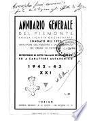 Annuario generale del Piemonte e della Liguria occidentale guida commerciale e industriale per ordine di categorie