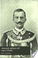 Annuario militare del regno d'Italia