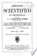 Annuario scientifico ed industriale ...