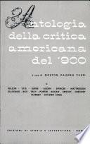 Antologia della critica americana del Novecento