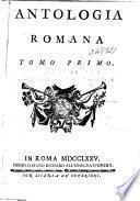 Antologia Romana