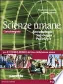 Antropologia, sociologia, psicologia. Con espansione online. Per la 3a e 4a classe delle Scuole superiori