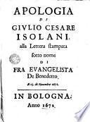 Apologia de Isolani