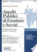 Appalti pubblici di forniture e servizi. Con CD-ROM