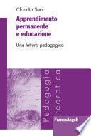 Apprendimento permanente e educazione. Una lettura pedagogica