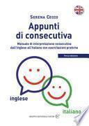 Appunti di consecutiva inglese-italiano