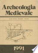 Archeologia Medievale, XVIII, 1991