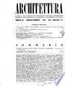 Architettura rivista del Sindacato nazionale fascista architetti