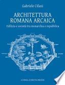 Architettura romana arcaica