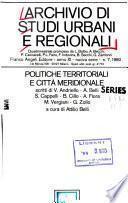 Archivio di studi urbani e regionali