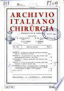 Archivio italiano di chirurgia