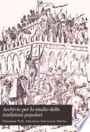 Archivio per lo studio delle tradizioni popolari