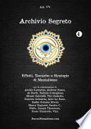 Archivio Segreto N. 4 - Effetti, Tecniche E Strategie Di Mentalismo