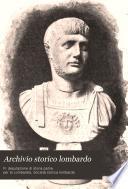 Archivio storico lombardo giornale della Società storica lombarda