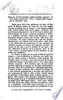 Argenziano, Giovanni Paolo. Elementi di Farmacologia medico-cerusica compilati da Gio. Paolo Argenziano, Tomo 1., Napoli, dalla tipografia de Dominicis, 1840 [recensione di] P. Balzano
